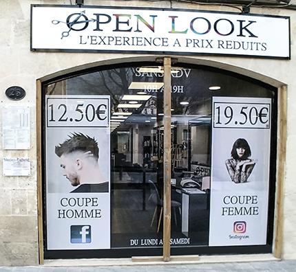 Bordeaux - Salon de coiffure Open Look