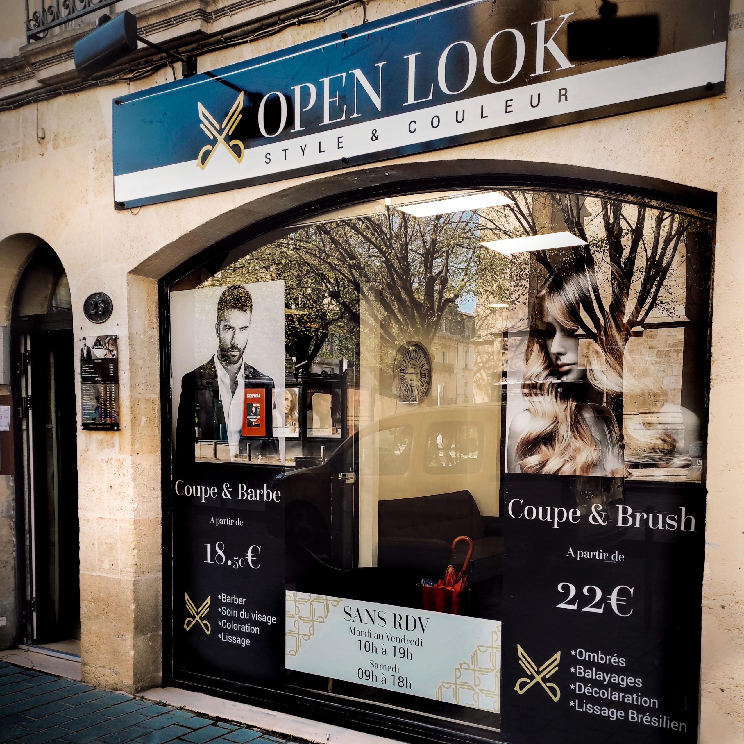 Salon de coiffure et esthétique open look bordeaux